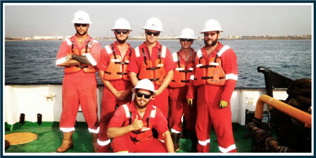 OSC Marine team offshore