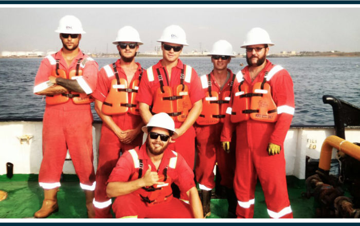OSC Marine team offshore