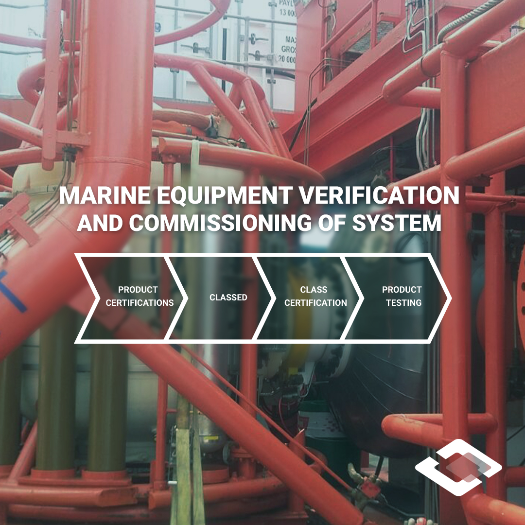 subsea and diving equipment verification and commissioning of system process diagram